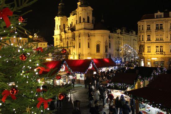 Почивка Коледните базари на Прага и Щоленфест Дрезден, 18-22 декември, самолетна програма
