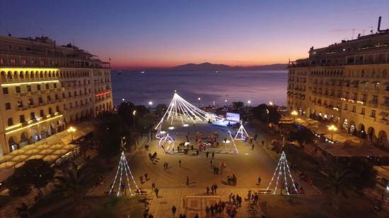 Почивка Нова година в Солун, пакетни оферти за 4 нощувки, със собствен транспорт