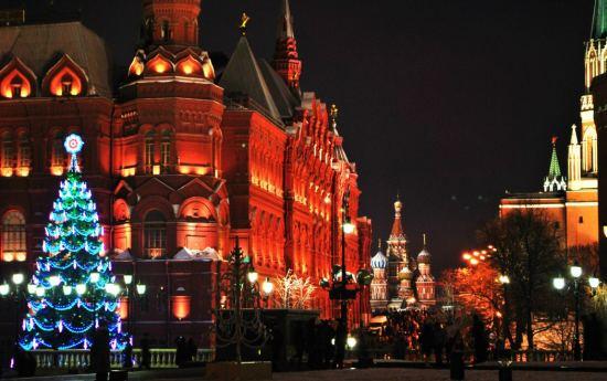 Почивка Нова година в Москва, 29.12-02.01, самолетна програма от Варна